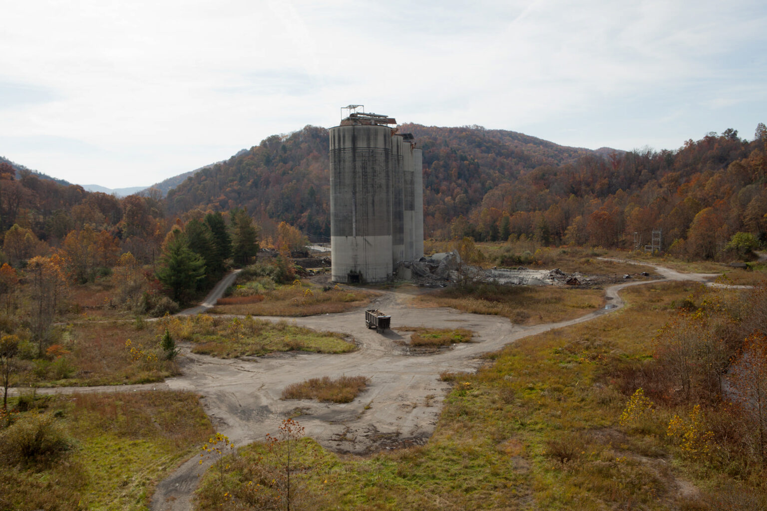 Disused mineshaft, Wise County, Virginia, 2012