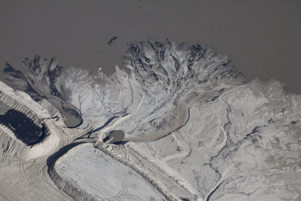 Tailings Ponds, Fort McMurray, Alberta, Canada, 2010