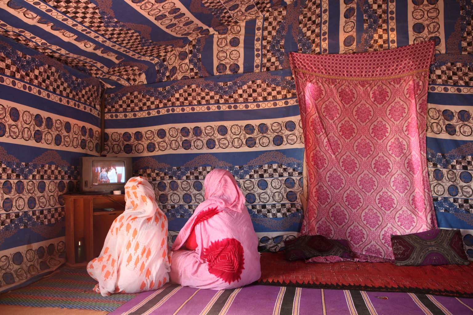 Private tent, Laayoune Refugee Camp, Algeria, 2015