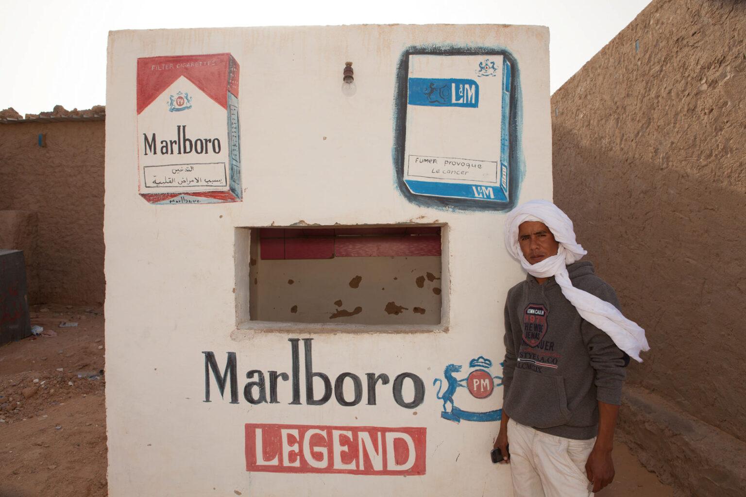 Cigarette Kiosk, Laayoune Refugee Camp, Algeria, 2015