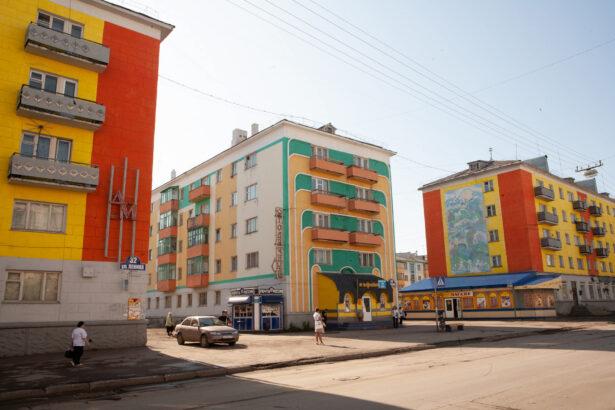 Vorkuta, Russian Arctic, 2009