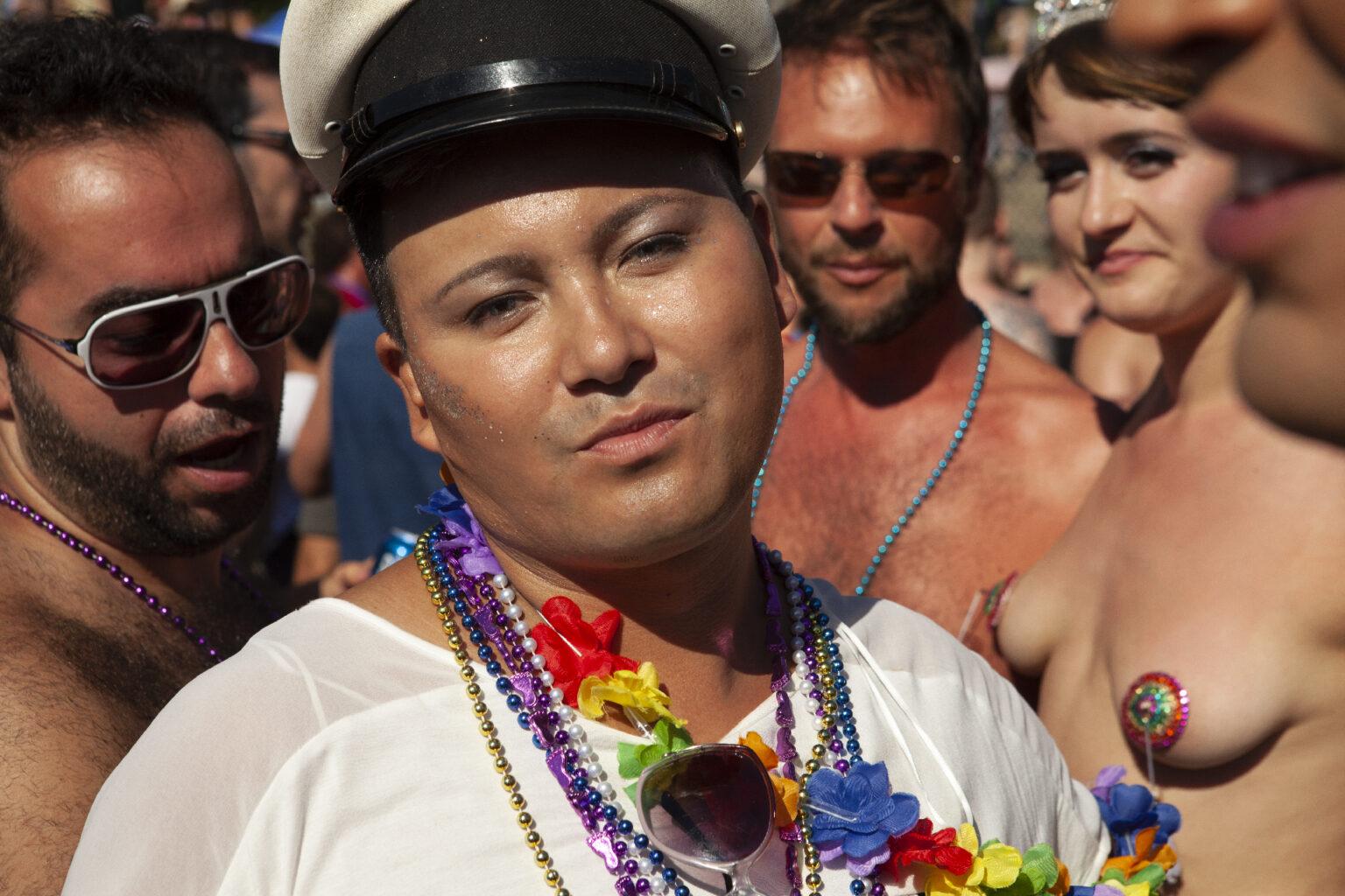 Sailor's cap, Vancouver Pride, Canada 2014