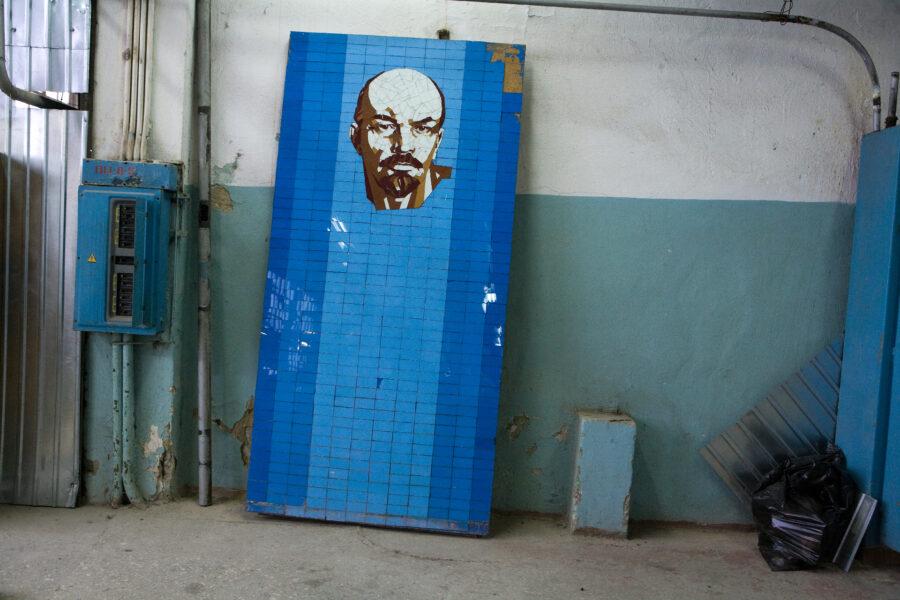 Lenin, textile factory, Ural Mash, 2009
